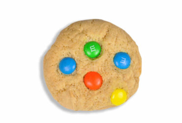 Chocolate M & M cookie